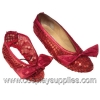 Ruby Slippers Child Shoecovers